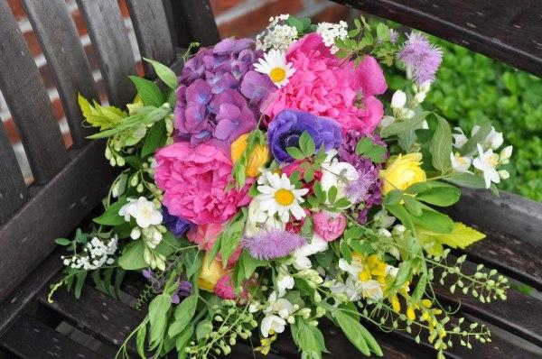 Lauren's May bouquet