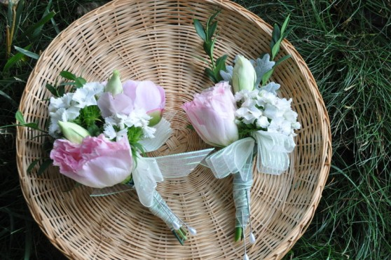 lisianthus and dianthus for grannies