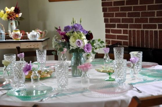 a pretty table awaits